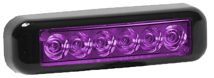 Purple Exterior Grill Lights