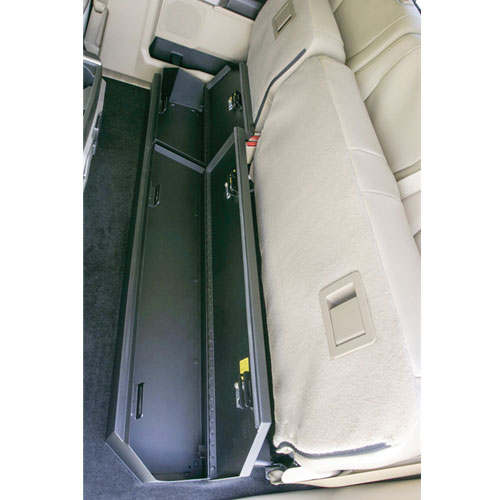 Underseat Pickup Truck Lock Box