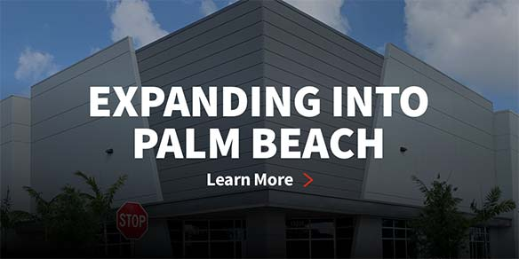 Expanding to Palm Beach