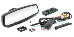 Rostra Rearview Mirror Style Monitor For Rostra Backup Camera Systems -250-8208