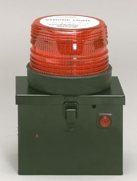 North American Signal Non-Rechargeable Battery Box Strobe Beacon-500D
