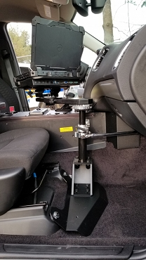 Havis Durango And Jeep Cherokee Side Mount Computer Stand  -PKG-PSM-345