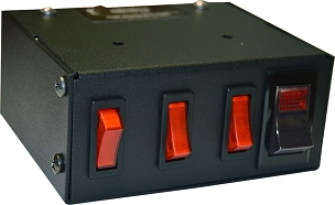 Signal Vehicle Products Svp Brand Heavy Duty 4 Switch Panel -Usa Made-SB3015