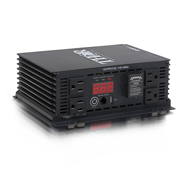 All Power Thor Heavy Duty 1000 Watt Power Inverter With Usb Charger -THMS1000