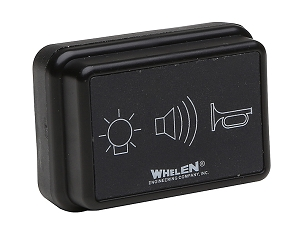 3 FUNCTION WATERPROOF SWITCH PANEL FOR ATV WHELEN SIRENS
