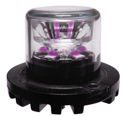 D and R Electronics Purple LED Hide A Way Lights -Pair-SL61L-2KIT-P
