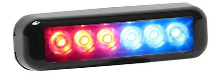 Signal Vehicle Products Compact Self Contained Grill LED - USA  Made-SRUS-6X