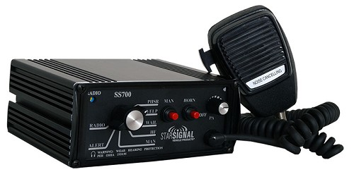 Signal Vehicle Products Svp Brand 200 Watt Full Featured Siren With Pa Functions - USA  Made -SS700-016