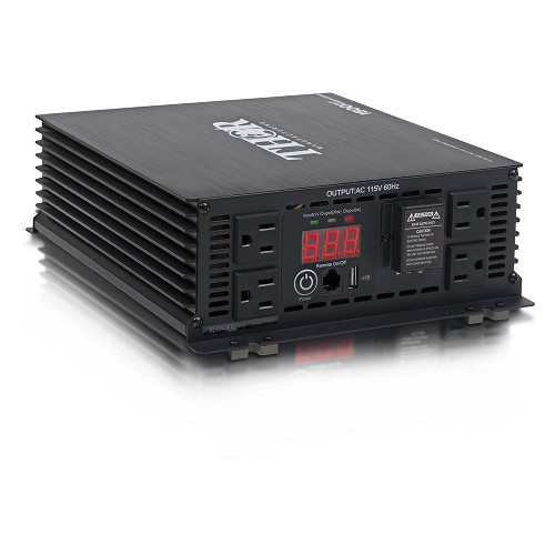 All Power Thor Heavy Duty 1500 Watt Power Inverter With Usb Charger -THMS1500