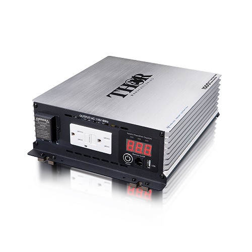 All Power Pure Sine Wave Thor Heavy Duty 1000 Watt Power Inverter With Usb Charger  -THPW1000