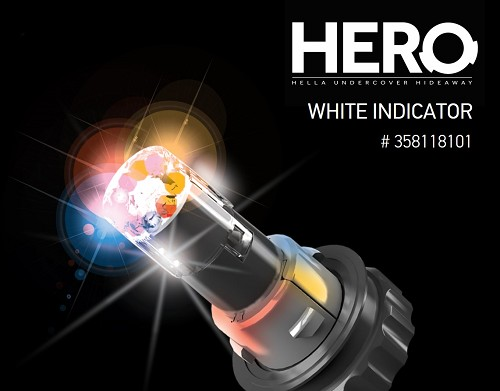 Hella Hero No Drill Headlgiht Or Tail Light LED -HERO Includes Vehicle Bezel